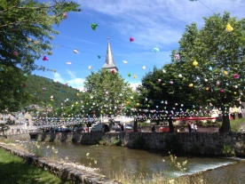 Bastille Day Borderes Louron, Pyrenees
