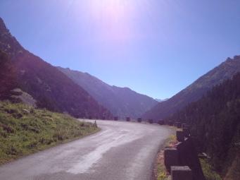 Dolomites switchback