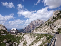 Rifugio Passo Valparola Dolomites
