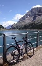 Lago Fedaia, Dolomites