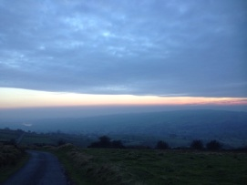 Peak District dusk
