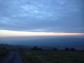 Peak District dusk