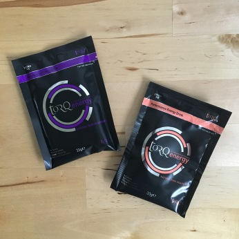 Torq Energy Sachets great for long days