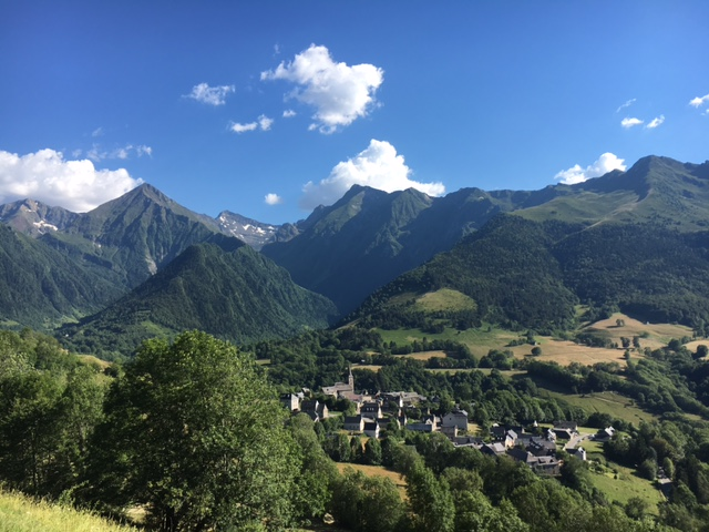 View from Col d'Azet