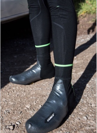 Silver Termico Overshoes in Use
