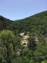 Gorge near Cocures