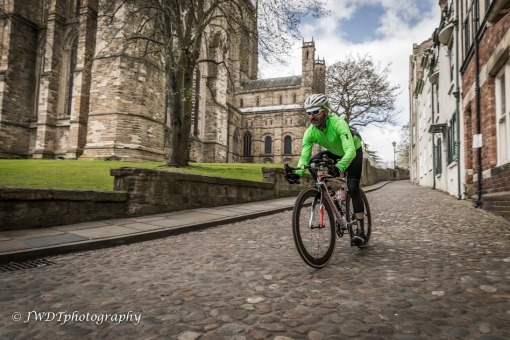 Cobbles near Durham Cathedral