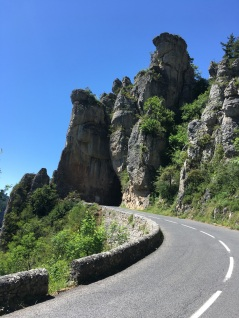 Above the Gorge de la Jonte