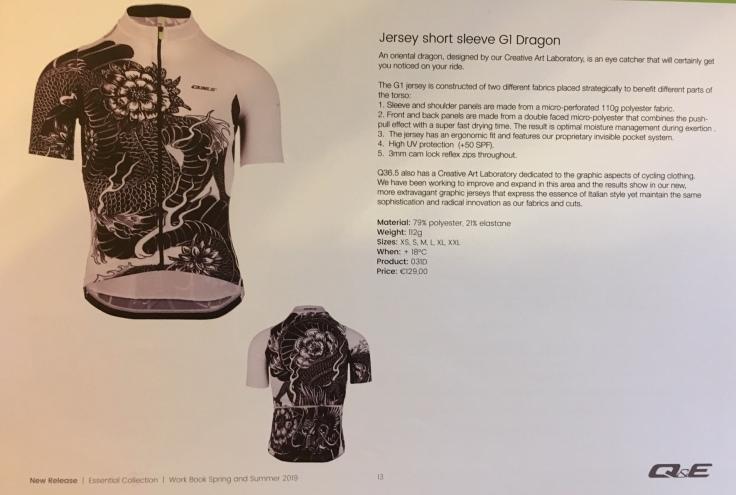 Dragon jersey